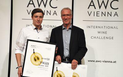 awc vienna 2018: 3x Neef Emmich unter den TOP 3