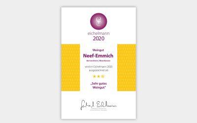 """Gerhard Eichelmann 2020: ★★☆ """"sehr gutes Weingut"""""""