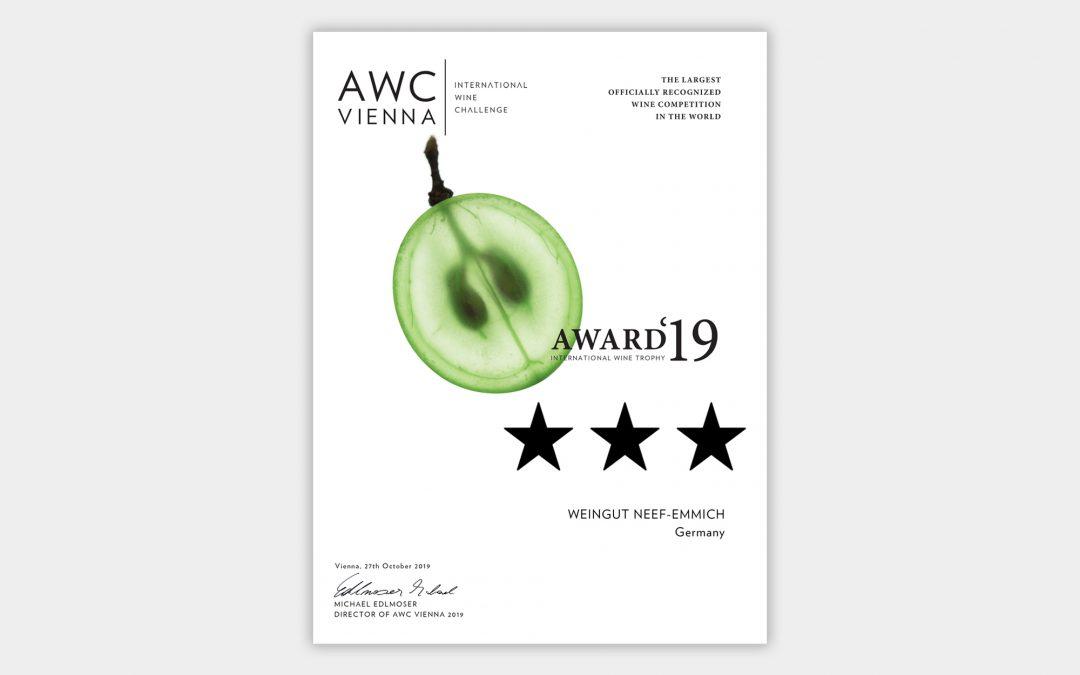awc vienna 2019: Neef Emmich 3 Sterne Weingut