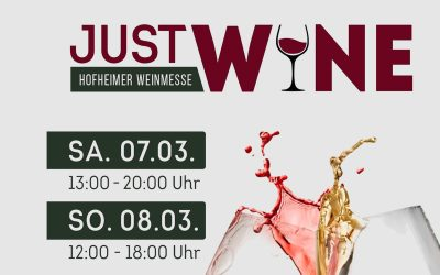 Just Wine – 1. Hofheimer Weinmesse