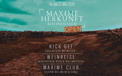 15. – 17. Mai 2020 MAXIME Open – ENTFÄLLT