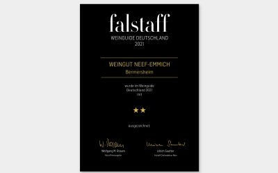 falstaff – Weinguide Deutschland 2021: ★★☆