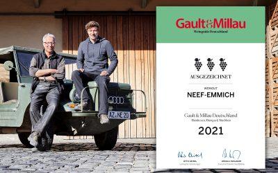 Gault&Millau: Drei Trauben